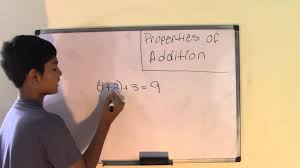 Identity Property Of Multiplication Worksheets 6th Grade Math Properties Of Addition Youtube