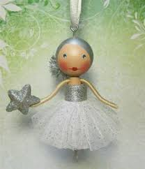 clothes pin doll ornaments might be a fun idea for a tree and