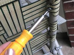 Patio Chair Webbing Material How To Macrame A Vintage Lawn Chair How Tos Diy