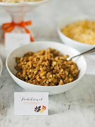 stuffing thanksgiving recipes savory sage onion and smoked bacon stuffing recipe from hgtv hgtv