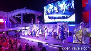disney cruise line dream pirates in the caribbean party on deck