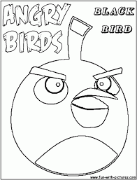 black angry birds coloring pages angry birds space coloring pages