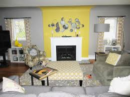 grey and yellow home decor living room cool grey and yellow living room design home decor