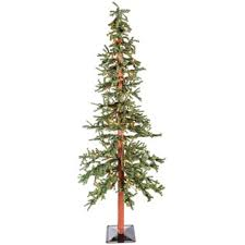 7 green alpine tree with lights shop hobby lobby