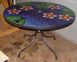 ceramic tile top patio table 85 best tile top patio table images on pinterest patio table
