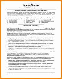engineering resume template word 7 mechanical engineering resume templates assistant cover letter