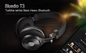black friday bluetooth stereo headphones amazon com bluedio t3 turbine 3rd extra bass wireless bluetooth
