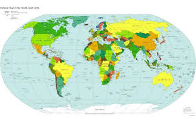Map Of The World Poster by Free Map Of The World Poster You Can See A Map Of Many Places On