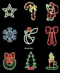 18 lighted window christmas decorations 50 lights new your choice