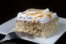 caramel macchiato tres leches cake