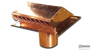 Half Round Dormer Roof Vents by Roof 10 Amazing Copper Roof Vents Custom Static Copper Roof Vent