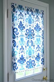 Diy Blinds Curtains No Sew Magnetic Window Covering Window Window Coverings And Doors