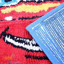 Disney Bath Rug Disney Pixar Cars Cotton Rug Bathroom Bedroom Mat 20inx30in