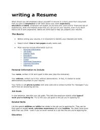 Summary For Job Resume How To Write A Tech Resume 20 Uxhandy Com Do I Summary 3 Bold