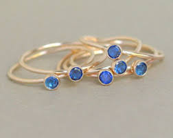 one mothers ring gold ring cz diamond birthstone ring one delicate stackable