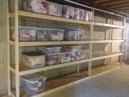 sweet inspiration basement storage shelving ideas fresh decoration