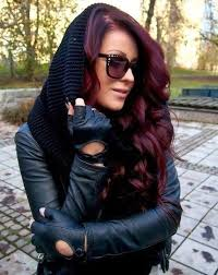 burgundy hair on a latina hair color how to get the perfect shade