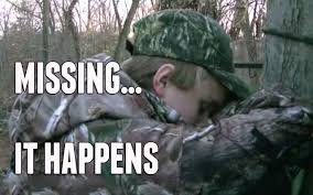 Bow Hunting Memes - the heartbreak of missing a big buck youtube