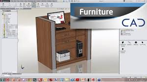 Wood Furniture Design Software Free Download by Designing Furniture In Solidworks Youtube