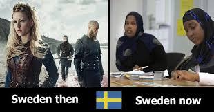 Sweden Meme - sweden then sweden now memes and comics