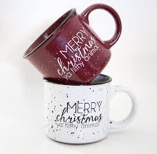 merry christmas ya filthy animal funny coffee mug jessicandesigns