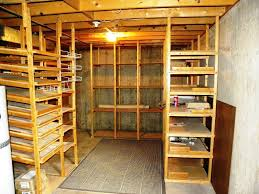 captivating basement shelving ideas building a wooden storage