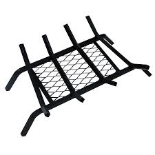 shop landmann usa 1 2 in steel 18 in 4 bar fireplace grate with