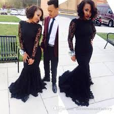 2017 custom made boat neck long sleeve mermaid prom dresses