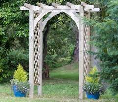 wedding arch kmart trellis topped fence panels garden trellis archway aluminum