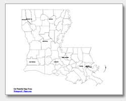 map of louisiana cities printable louisiana maps state outline parish cities