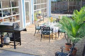 Gravel Backyard Ideas How To Create A Chic Gravel Patio The Home Depot
