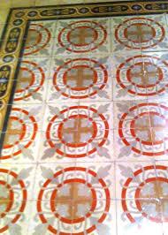 merida mexico spanish tile floors moth and rust