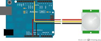 pir sensor hc sr501 robotic controls