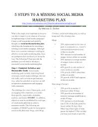 7 best images of social media marketing proposal template social