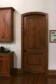 Maple Doors Interior Solid Maple Sante Fe 8 Ft Interior Door With Traditional Cherry