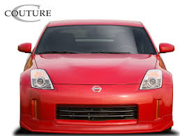 Nissan 350z Red - nissan 350z front bumpers body kit super store ground effects