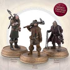 the official hobbit figurine collection sci fi eaglemoss