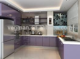 cheap purple aluminium kitchen cabinet india with granite kitchen