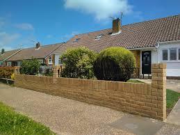 Garden Wall Railings by Bricklayers In Worthing Builders Worthing Roddbrickwork