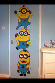 Best  Minion Bedroom Ideas On Pinterest Despicable Me Bedroom - Childrens bedroom wall painting ideas