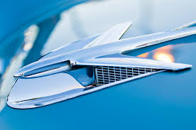 1956 buick century ornament photograph by reger