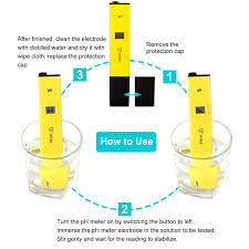 amazon com jellas pocket size ph meter digital water quality