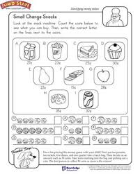 small change snacks u2013 1st grade math worksheets on money u2013 jumpstart