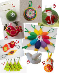 our lake a etsy felt ornament collection our