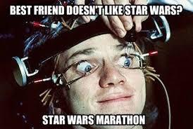 Funny Star Wars Meme - best friend doesn t like star wars funny star war meme image