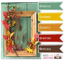 thanksgiving color palette i an idea for my potting shed and