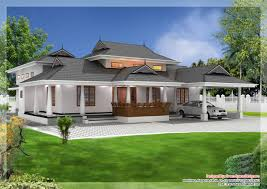 House Plans Kerala Style by India Kerala Style Traditional Villa With Courtyard House Design