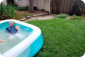 chez beeper bebe summer in our backyard