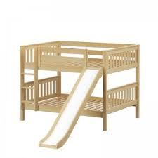 Loft Beds With Slides Stairs  Storage Maxtrix Kids - Slide bunk beds
