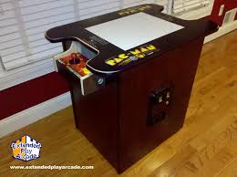 Cocktail Arcade Cabinet Kit Mame Cocktail Arcade Table Extended Play Arcade Bringing Back The